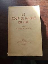 Le tour du monde du rire Pierre Daninos 1955   C8