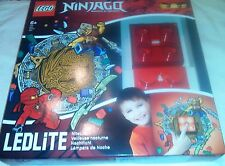 Ninjago LEDLite NiteLite Lego Night Light Red Brick