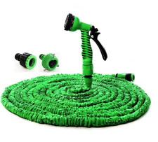Deluxe 100 Foot Expandable Flexible Garden Water Hose w/ Spray Nozzle
