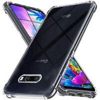 For LG G8X G8 G7 V40 V50 V60 ThinQ K51S K40 Shockproof Soft Clear TPU Case Cover