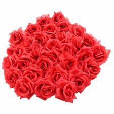 50 Flores Color Rojas Artificiales Para Decoracion De Sala De Pared Baby Shower