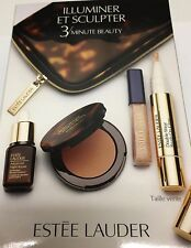 ESTEE LAUDER BRONZE + GLOW 3 MINUTE BEAUTY KIT SUNKISSED SUMMER NEW IN BOX