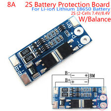 2S 8A 7.4V balance 18650 Li-ion Lithium Battery BMS charger protection board $m