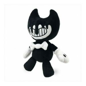 """INK BENDY Plush 8"""" Black & White Bendy and the Ink Machine NEW"""