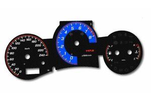 Toyota MR2 - 3gen. - design 2 glow gauges dials plasma dials kit tacho glow dash