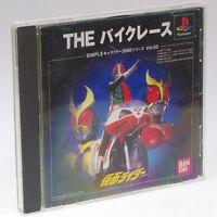 KAMEN RIDER THE BIKE RACE PS1 Sony Japan Import PlayStation PSX NTSC-J Very RARE