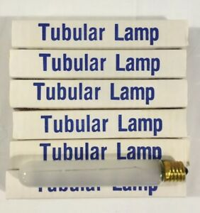 PHILIPS 20T6-1/2/IF 120V Tubular Light Lamp Exit Sign Frosted Lot of 6  NOS