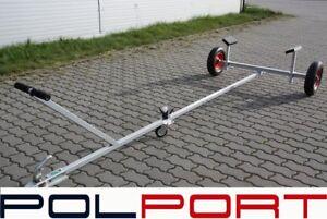 Polport NEW Launching Trolley Trailer Slip Sailing Row Rib Fishing Boat Dinghy