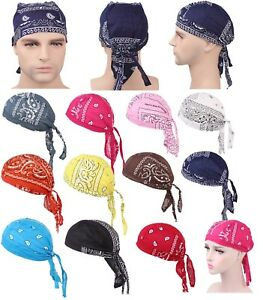 Cycling Outdoor Sports Quick Dry Bicycle Bike Pirate Hats Caps Bandana Headbands