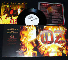 """OZ- The Show Must Go On LIM. 7"""" SINGLE only 300 BLACK VINYL 80ies metal cult"""