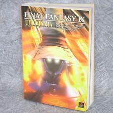 FINAL FANTASY IX 9 Ultimania Guide Book PS DC56*