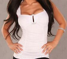 Clubwear Tank, Cami Machine Washable Sleeve Tops & Blouses for Women