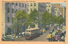 NEW YORK CITY – Fifth Avenue and Rockefeller Center