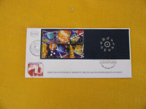 ISRAEL BOOKLET FDC:  SOLAR SYSTEM