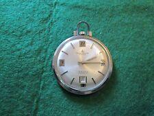 Baume e Mercier orologio da tasca con data metallo funzionante,preciso,originale
