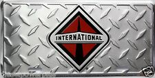 INTERNATIONAL license plate truck emblem tag decal sign logo emblem sign motor i