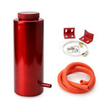 800ml Cylinder Radiator Overflow Reservoir Coolant Tank Universal Can Red