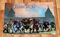 Blood Bowl Video Game Very Rare Double sided Poster 58x42cm