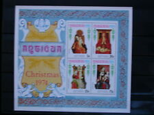 ANTIGUA '1974 **MNH BF17 YT 3,50 EUR FAMOUS PAINTINGS,PEINTRES CELEBRES,TABLEAUX
