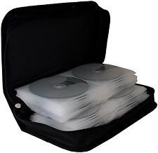 CD Wallet MediaRange für 96 Cd/dvds schwarz Retail