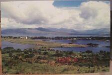 Irish Postcard CLOONEE LAKES Tuosist Kenmare Derrylough Kerry Ireland John Eagle