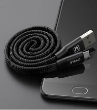 Strong Braided 2.1A Durable Micro USB Cable Data Sync Charger for Samsung S6 S5