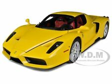 FERRARI ENZO F60 YELLOW 1/12 DIECAST MODEL CAR BY KYOSHO 08606