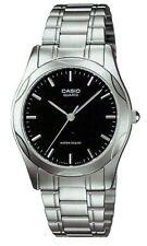 Casio MTP1275D-1A Men's Stainless Steel Black Dial Casual Analog Watch