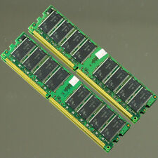 2GB 2x 1GB PC3200 DDR400 Low-Density MEMORY For Dell,HP,IBM,ASUS,MSI Computer