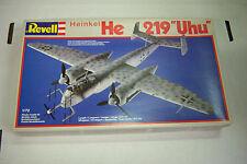 Revell Heinkel He219 Uhu Fighter Plane 1:72 Scale Plastic Model Kit 092612JBe3