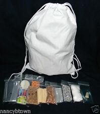 Emergency BACK PACK Fire Starter Magnesium MRE Hiking Prepper Camping BOB Candle