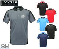 Embroidered Regatta Contrast Polo workwear logo uniform personalised tshirt