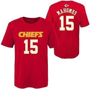 Patrick Mahomes Kansas City Chiefs Youth Boys Name & Number Player T-Shirt