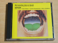 Neil Merryweather/Word of Mouth/1993 CD Album/Steve Miller/Dave Mason
