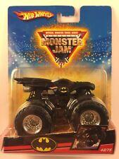 Hot Wheels Monster Jam Monster Truck BATMAN BATMOBILE 42/75 2008 Die-cast Metal