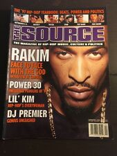 The Source Magazine, February 1998, Rakim - Face-To-Face With God.