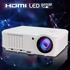 4500lm Home Movie Theater LED LCD Multimedia Projector 1080p Full HD TV VGA USB