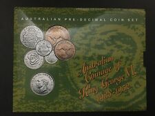 Australian Pre-decimal  King George VI Coin Set 1939  Sherwood (317/79/C8)