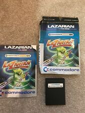 Lazarian Cartridge game. TESTED Commodore 64 128. Used. RETRO gaming