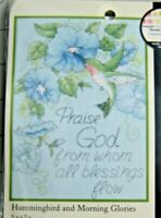"""PRAISE GOD FROM WHO ALL Dimensions 65015 Counted Cross Stitch Kit 5"""" X 7"""" NIP"""