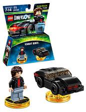 LEGO Dimensions 71286 Michael KNIGHT RIDER & K.I.T.T AUS stock Brand new (#1313)
