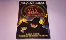 Doctor Sax & The Great World Snake Jack Kerouac 2CD Audio Book & Screenplay