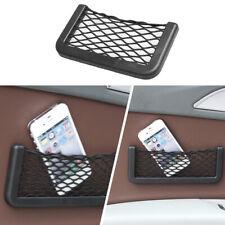 Car Net Pocket Storage Bag Seat Side Back Storage Net Bag Phone Holder V1F6