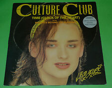 """CULTURE CLUB 12"""" EP TIME (CLOCK OF THE HEART) 1982 VG++ BOY GEORGE VS55812"""