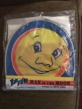 Top Flite Man In The Moon Streamer Kite W/Keel Vintage NIP Sealed