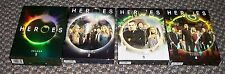 Heroes the complete DVDs  for seasons 1 2 3 and 4 MINT  NBC TV show