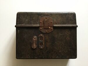 Original WW2 German Army Field Bakelite Telephone Box 1939