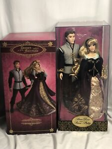 AURORA and PRINCE PHILLIP Doll Set. Disney Fairytale Designer Collection