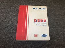 1994 Chevy Astro & GMC Safari Van Driveability Emssions Electrical Wiring Manual