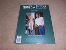 HOOFS AND HORNS MAGAZINE SUMMER 2004 NEW RELAUNCH ISSUE JEFF BRIDGES